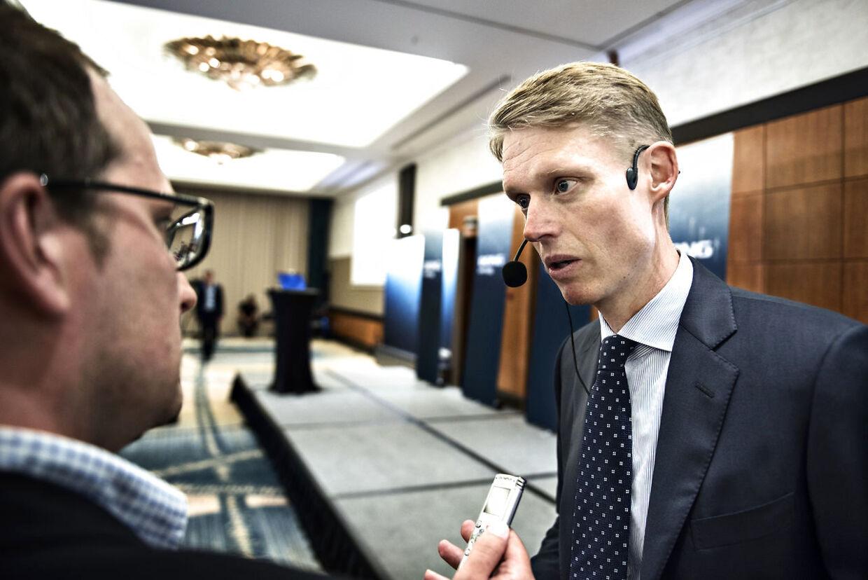 Dong investormøde: interview med Henrik Poulsen inden mødet