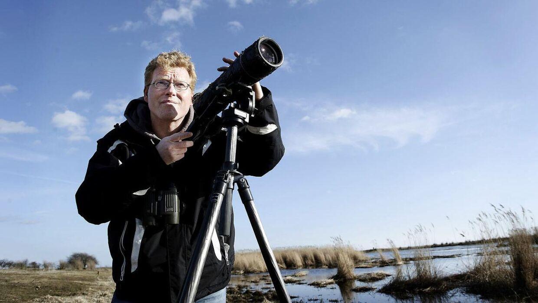 Sebastian Klein er blevet mødt med glæde og taknemmelighed fra andre fuglekiggere, efter han mandag opdagede Danmarks hidtil sjældneste fugl på Christiansø: »De kysser mig i røven af taknemmelighed,« griner tv-værten.