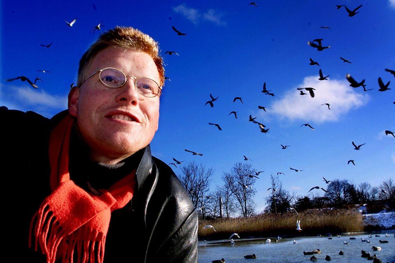 Tv-værten Sebastian Klein har som fuglekigger oplevet både løgn, mistro og sågar dødstrusler i ornitologernes indbyrdes dyst om at have set flest fuglearter. Arkivfoto: Bax Lindhardt
