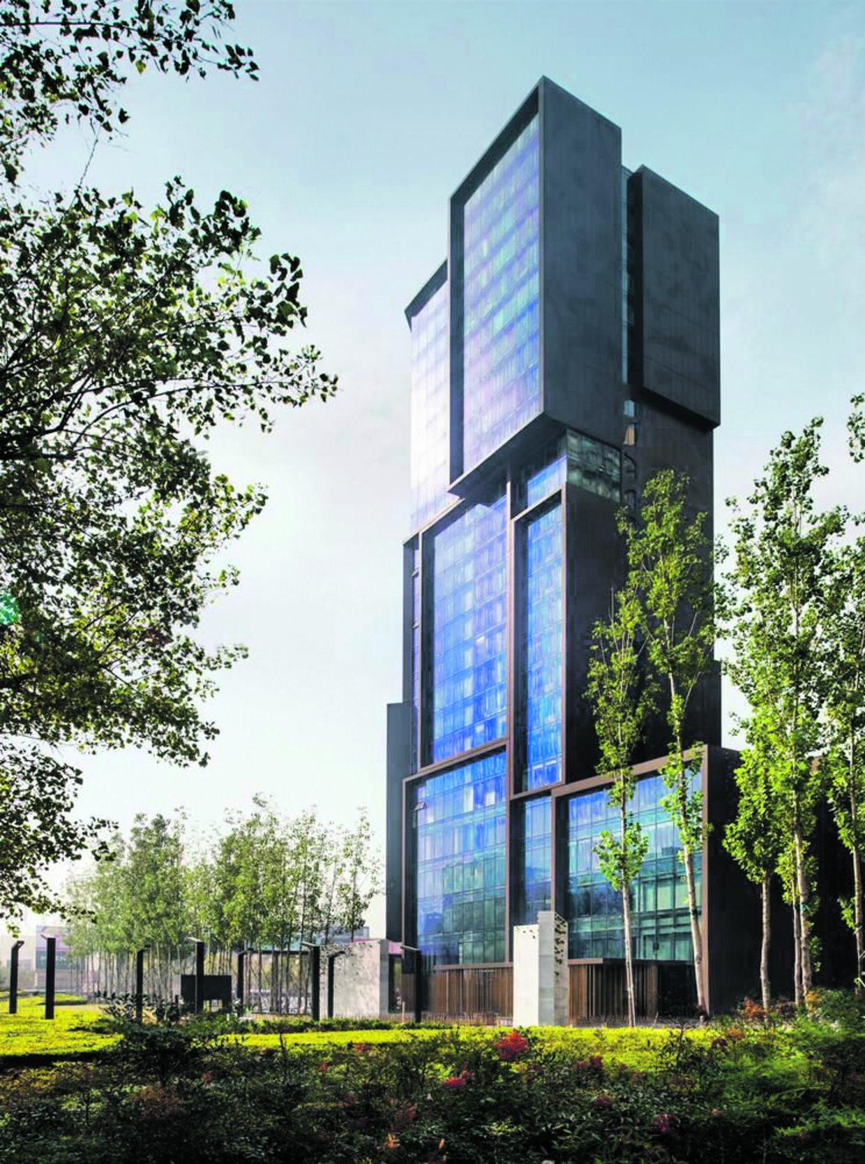 Det mondæne fem-stjernede Le Méridien-hotel i Zhengzhou, hvor Eddi Gomes bor i dag.