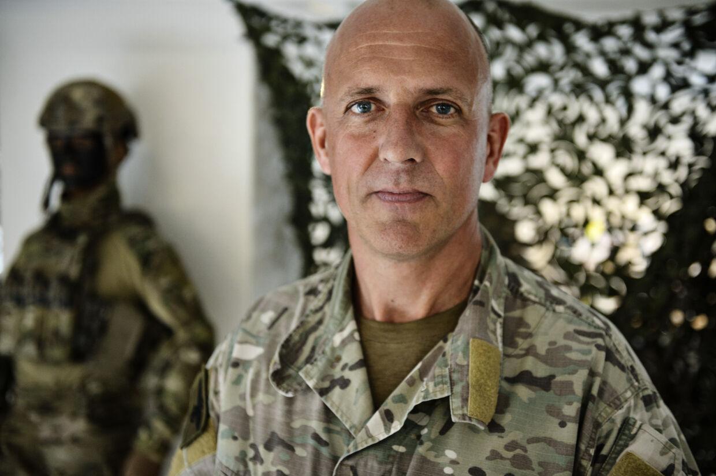 Peter 'Tot' Andersen har været i korpset i 28 år og bl.a. oplært Frederik på tomandshånd. Foto:Mathias Bojesen