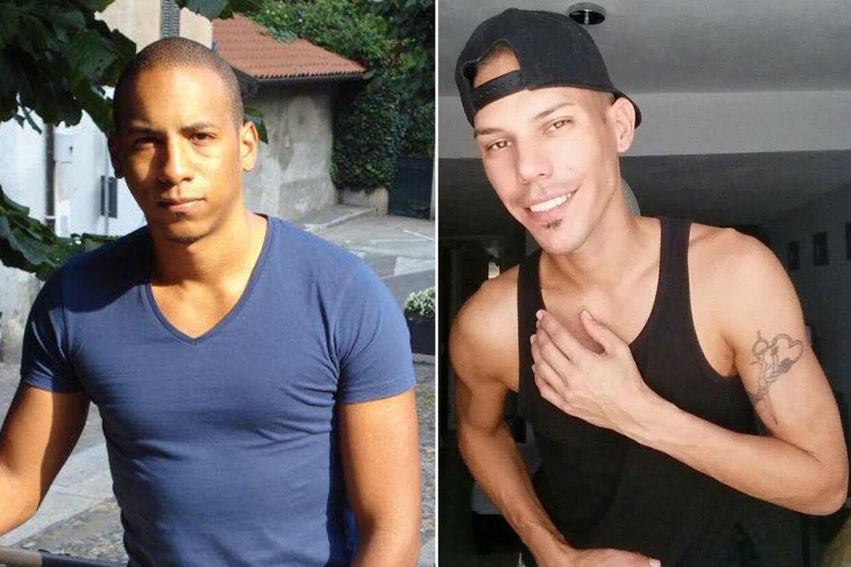 Søren Papes kæreste Josue Medina Vásquez(tv) er i dyb sorg, efter han har fundet ud af, at han har mistet sin gode ven 33-årige Martin Benitez Torres (th) i massakren i Florida.