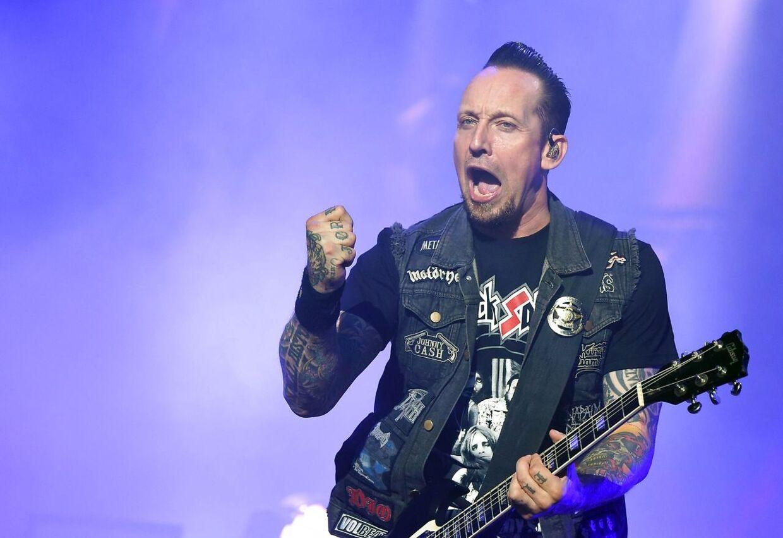Michael Poulsen og resten af Volbeat har god grund til at juble. Arkivfoto