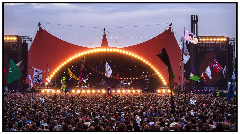 Roskilde Festival. Orange Scene.