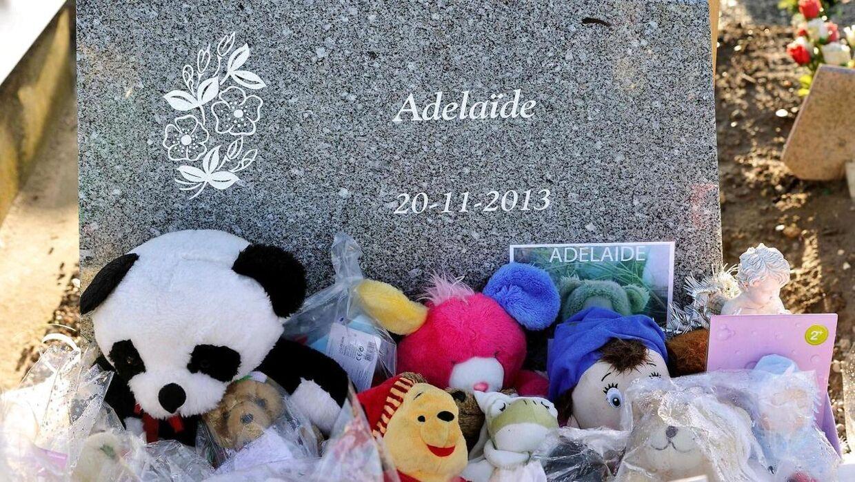 Adelaide var kun 15 måneder gammel, da hendes mor skubbede hendes klapvogn i vandet.