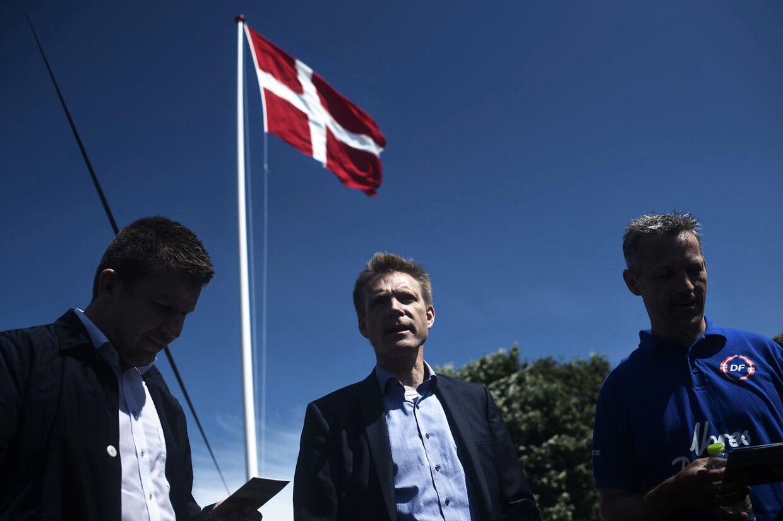 Partiformand for Dansk Folkeparti Kristian Thulesen Dahl under Folkemødet 2016 lørdag den 18. juni 2016.