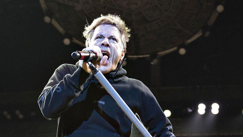 Iron Maiden gav tirsdag aften koncert i Boxen i Herning.