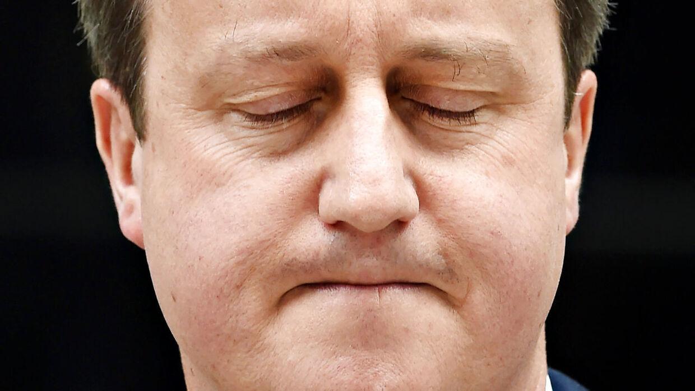 Den britiske premierminister David Cameron.