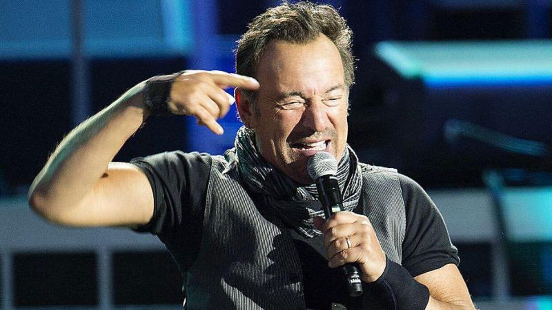 Bruce Springsteen i Parken, onsdag aften.