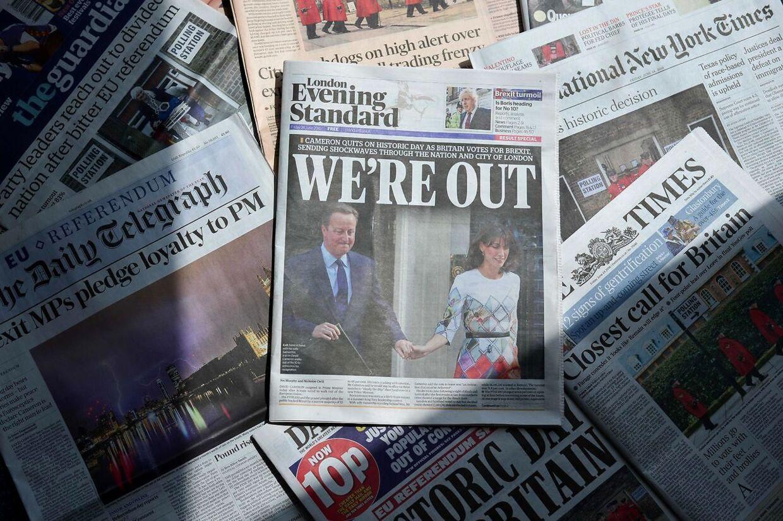 farvel EU. Det blev resultatet af afstemningen i ZStorbritannien. Men mange har allerede fortrudt deres kryds.