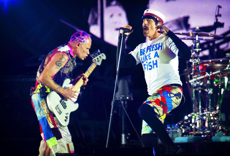 Roskilde Festival 2016 Red Hot Chili Peppers på Orange Scene