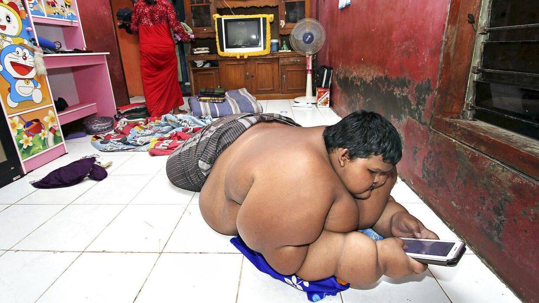 hvor meget vejer verdens tykkeste mand
