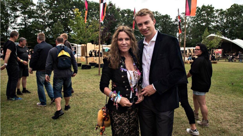 Roskilde Festival 2016: Morten Messerschmidt og Dot Wessmann.