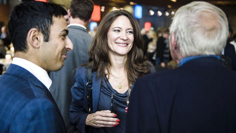 Arkivfoto af Paula Larrain fra receptionen, hvor TV AVISEN fyldte 50 år.