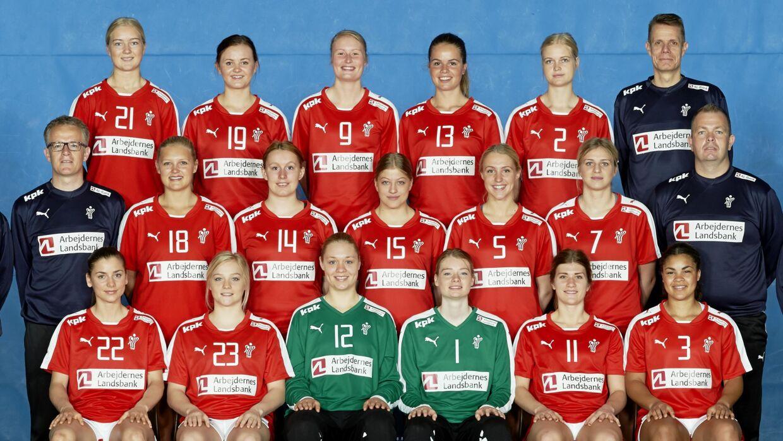 danske kvinde håndbold landshold