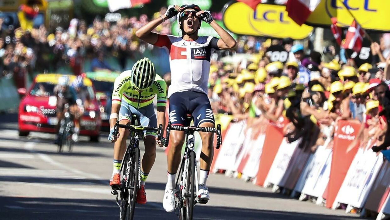 Jarlinson Pantano: »Jeg har altid været god. Jeg blev nummer tre i Tour de l'Avenir, dengang Quintana vandt det løb.«
