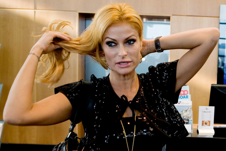 Rigmor Zobel ses ofte på den røde løber og til modeshow. Her er hun til Danish Beauty Awards i Københavns Lufthavn.
