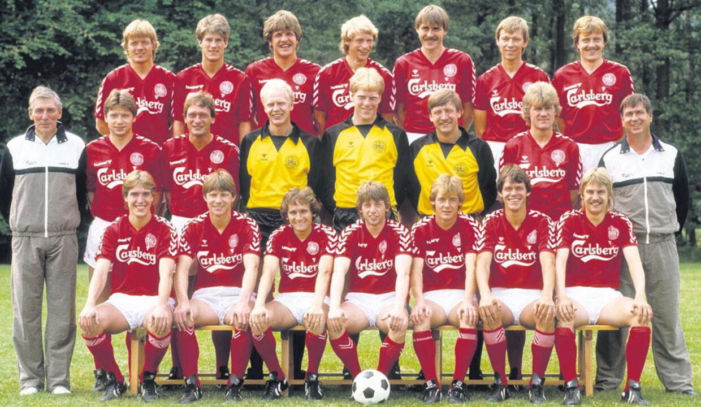 landsholdet 1986 spillere