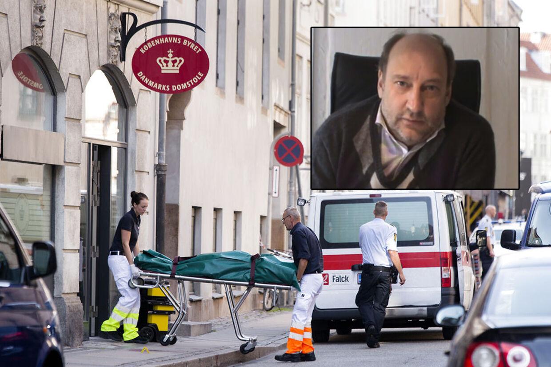 Anders Lindholdt blev tirsdag dræbt i retten.