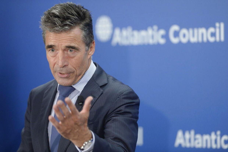 NATO's generalsekretær Anders Fogh Rasmussen. (Foto: Michael Reynolds, EPA)