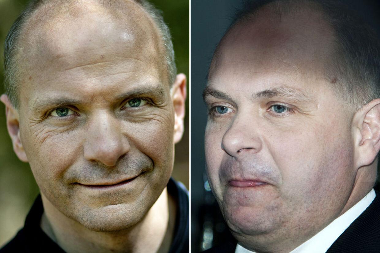 Til venste: Søren Gade som han ser ud i dag. Til højre: Søren Gade som han så ud, da han gik af som minister.