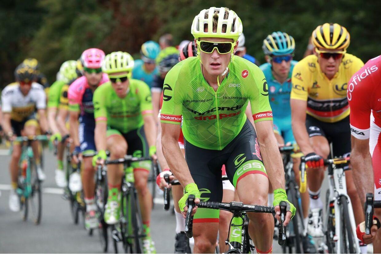 Ifølge Brian Holm ville Matti Breschel se mindst ligeså godt ud i en sæk kartofler, men Holm kan nu alligevel godt lide Cannondales cykel-outfit