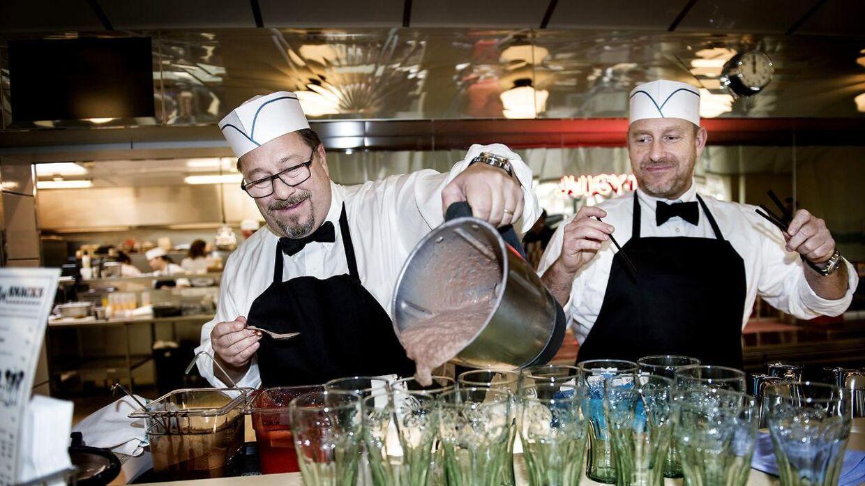 Her ses brødrene Price til deres seneste restaurationsåbning i Tivoli tirsdag 5. april. Den nyeste restaurant bliver åbnet i Nordjylland.