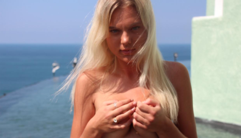 ting i hendes fisse Jeanette Ottesen bryster