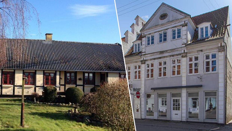 Her er der IKKE wellness-badeværelse: Danmarks ældste hus til salg er over 750 år gammelt | BT ...
