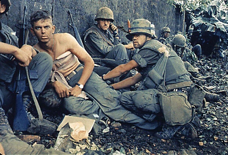 Hjemme i stuerne kunne danskerne følge med i Vietnamkrigen.