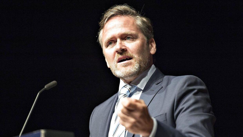 Liberal Alliances formand Anders Samuelsen. (foto: Henning Bagger/Scanpix2016)