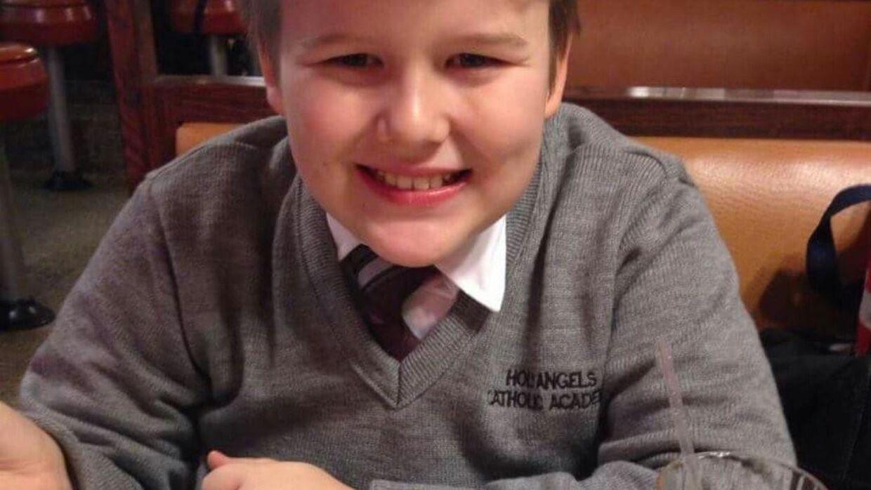 Den 13-årige Daniel Fitzpatrick tog en drastisk beslutning, fordi han blev mobbet, uden skolen greb ind. Foto: Privatfoto