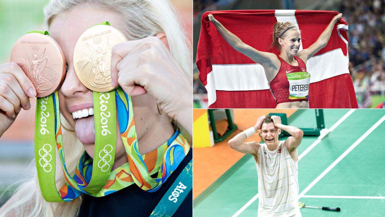 ol danske medaljer