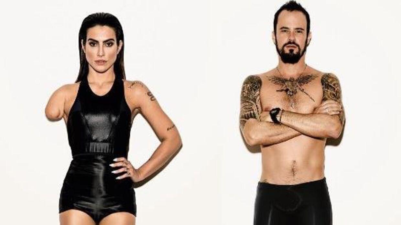 Sådan ser Cleo Pires og Paulo Vilhena ud som para-atleter.