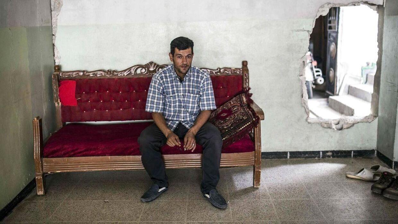 41-årige Abdullah Kurdi mistede sin familie sidste år, da de flygtede til Grækenland. Billedet af hans tre-årige søn Aylan, der lå død i vandkanten i Tyrkiet, gik hurtigt viralt.