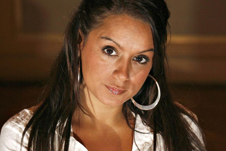 Sådan så Nicole Stockholm ud i 2008, da hun deltog i 'Elsk mig i nat' på Kanal 5.