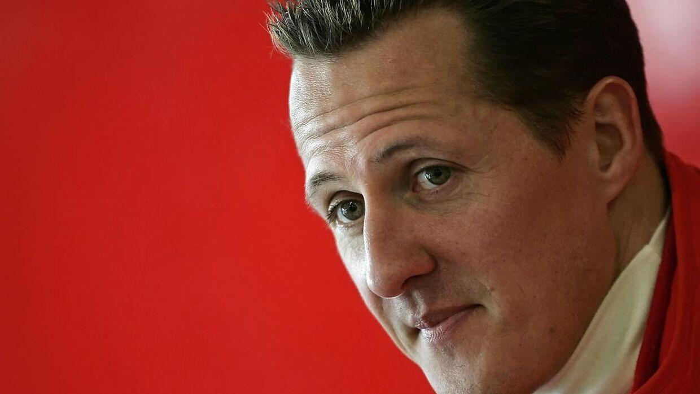 Michael Schumacher kan ikke gå.