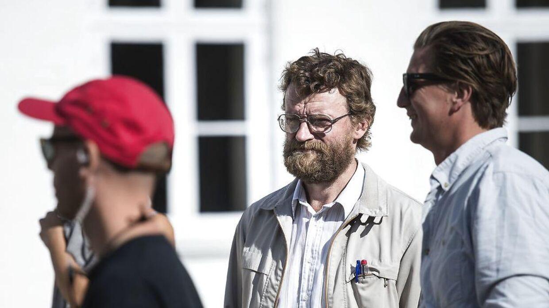 Filmoptagelserne til Casper Christensen og Frank Hvams kommende komedie DAN-DREAM er i fuld gang på Fyn.