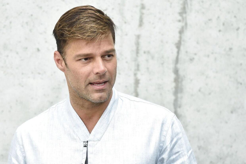Fra Vanløse til Georgio Armani. Københavnske Lars Chief 1 Pedersen er medskribent på Ricky Martins nye hit. EPA/FLAVIO LO SCALZO