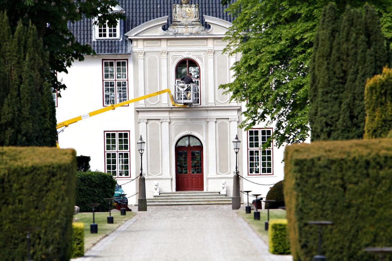 Scackenborg Slot i Møgeltønder.
