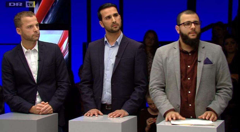 Screenshot fra DR2-programmet 'Debatten'.
