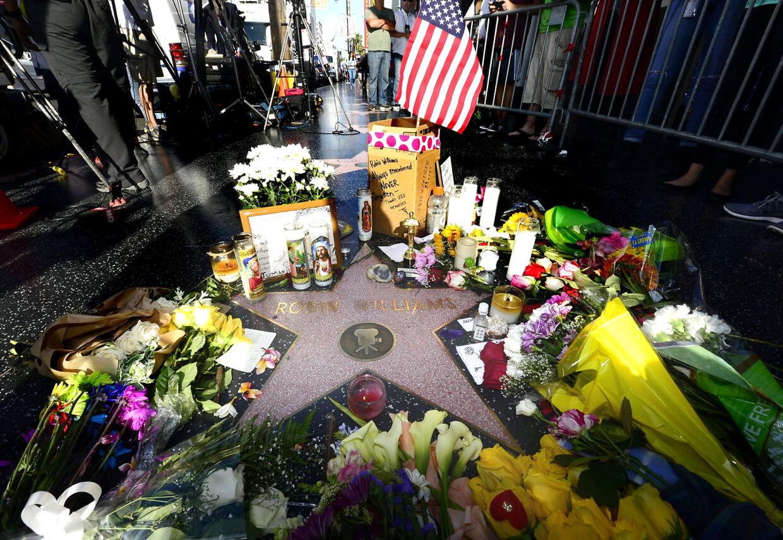 Robin Williams blev mindet verden over efter hans død den 11. august 2014.