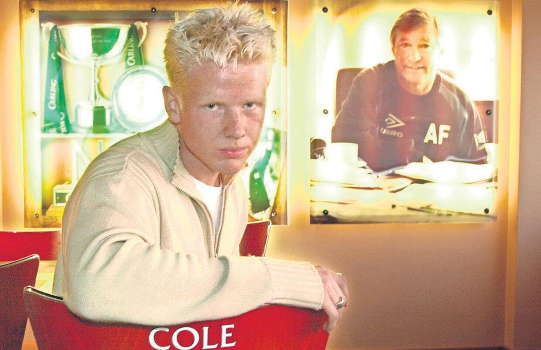 Den dengang 16-årige Mads Timms største drøm var at få sit navn på stoleryggen i Manchester Uniteds café.