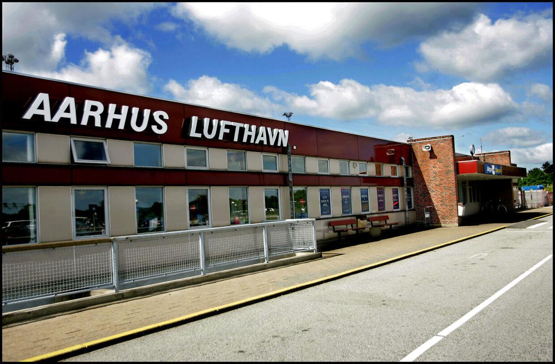 Århus Lufthavn i Tirstrup.