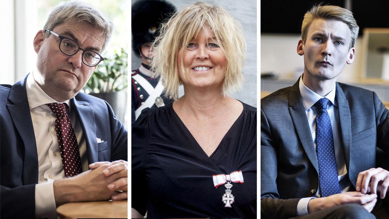 Retsordfører for Dansk Folkeparti Peter Kofod Poulsen vil have justitsminister Søren Pind til at rense ud i politiledelsen.