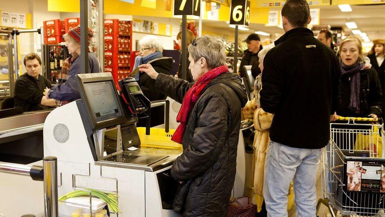 BT BM Netto på Nørre voldgade. Dansk Supermarked har netop fremlagt et positivt regnskab.
