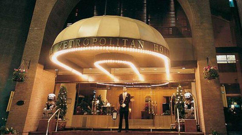 Metropolitan Hotel i Vancouver.