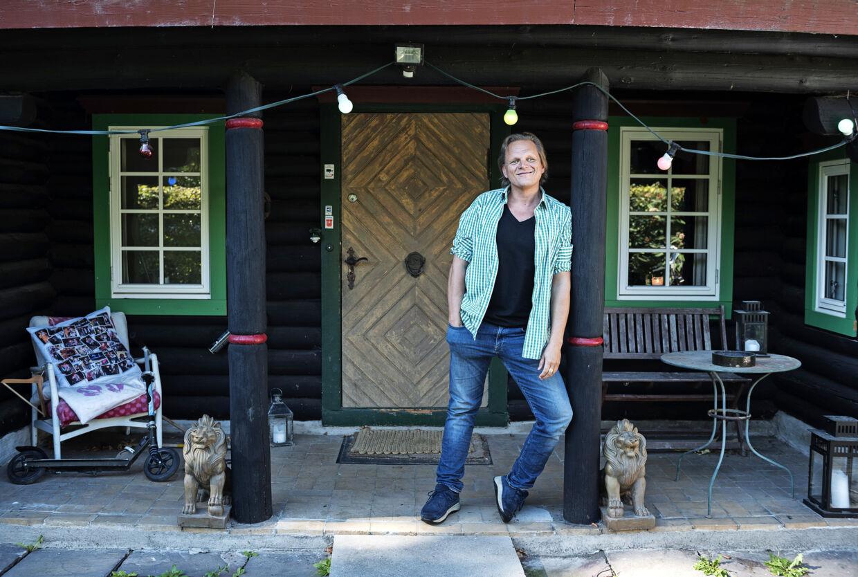Sigurd Barrett fotograferet onsdag d. 21. september 2016 i sit hjem.