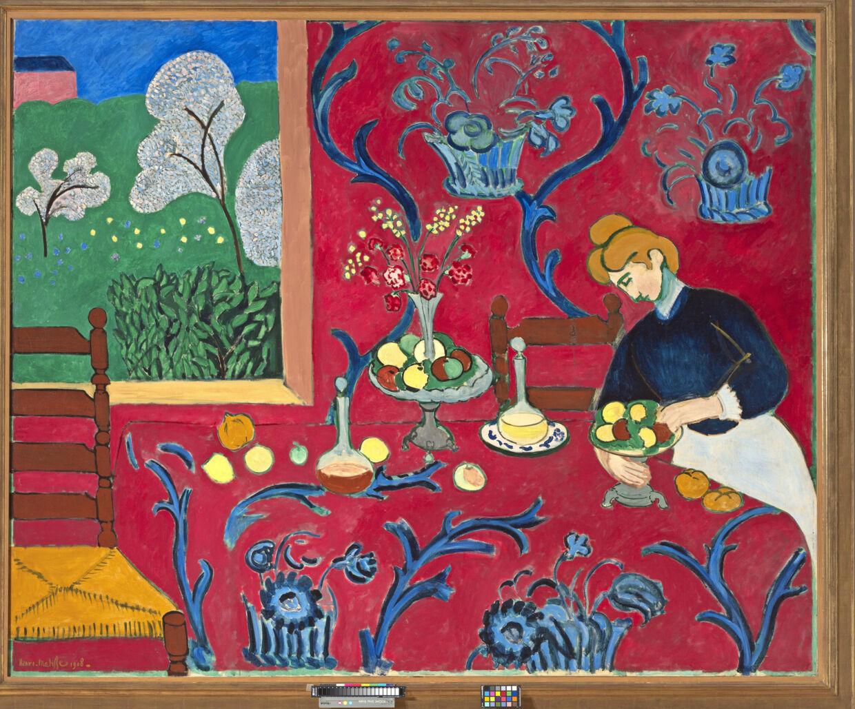 Udsnit af et Matisse-maleri. Foto: Fondation Louis Vuitton PR