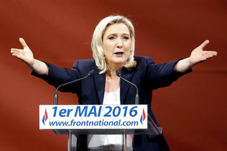 Bliver Marine Le Pen Frankrigs nye præsident?